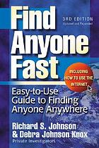 Find anyone fast