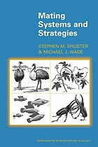 Mating Systems and Strategies