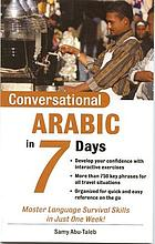 Conversational Arabic in 7 days
