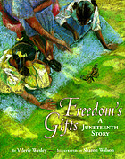 Cover Art for the picture book Freedom's Gifts