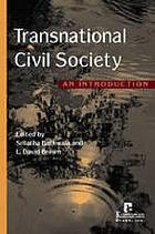 Transnational civil society : an introduction