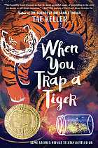 Book cover for When you trap a tiger.