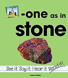 -One as in stone