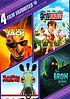 4 Film favorites : Family fun collection : Kangaroo Jack ; Ant Bully ; Racing stripes ; Iron Giant